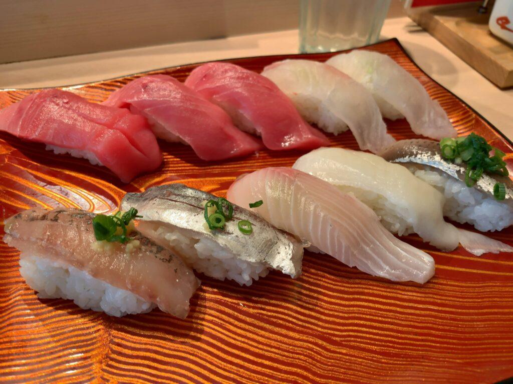 きづなすし秋葉原店お寿司
