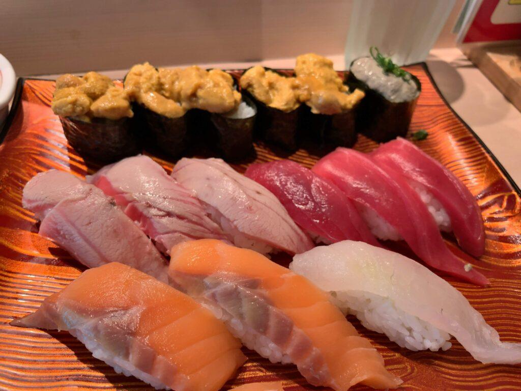 きづなすし秋葉原店寿司