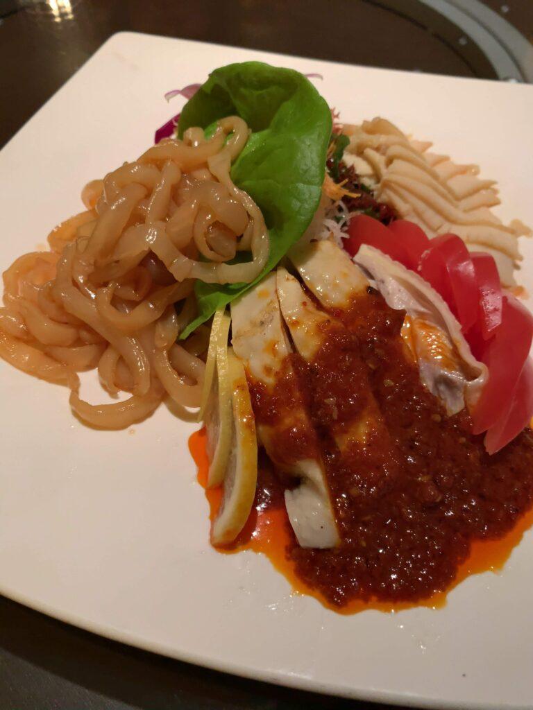中国料理 四川 シェラトン都ホテル東京前菜