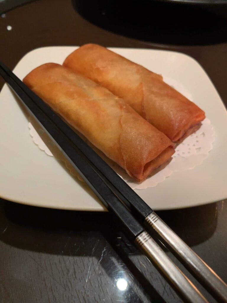 中国料理 四川 シェラトン都ホテル東京春巻き