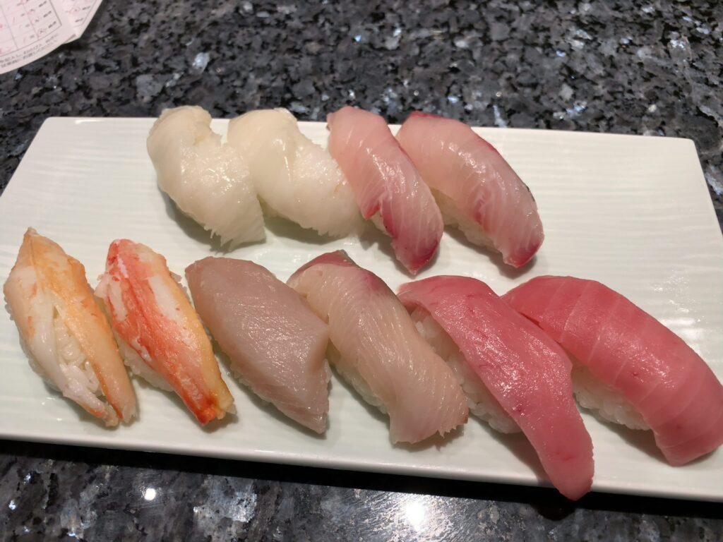 銀座沼津港寿司食べ放題2